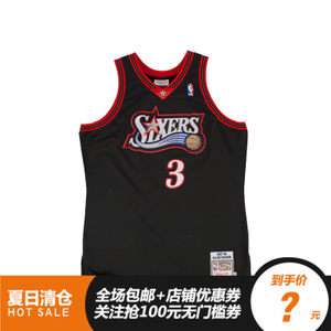 <span class=H>NBA</span><span class=H>复古</span>球衣AUTHENTIC球员球迷版背心刺绣艾弗森 Mitchell Ness